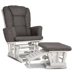 Glider Chair And Ottoman Replacement Cushions Cover Hire Lincolnshire Graco Sterling Semi Upholstered Nursing