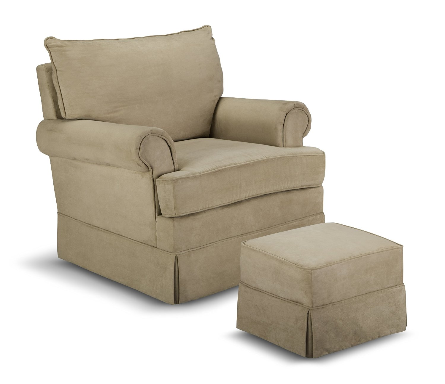 Upholstered Glider Chair Thomasville Kids Grand Royale Upholstered Swivel Glider