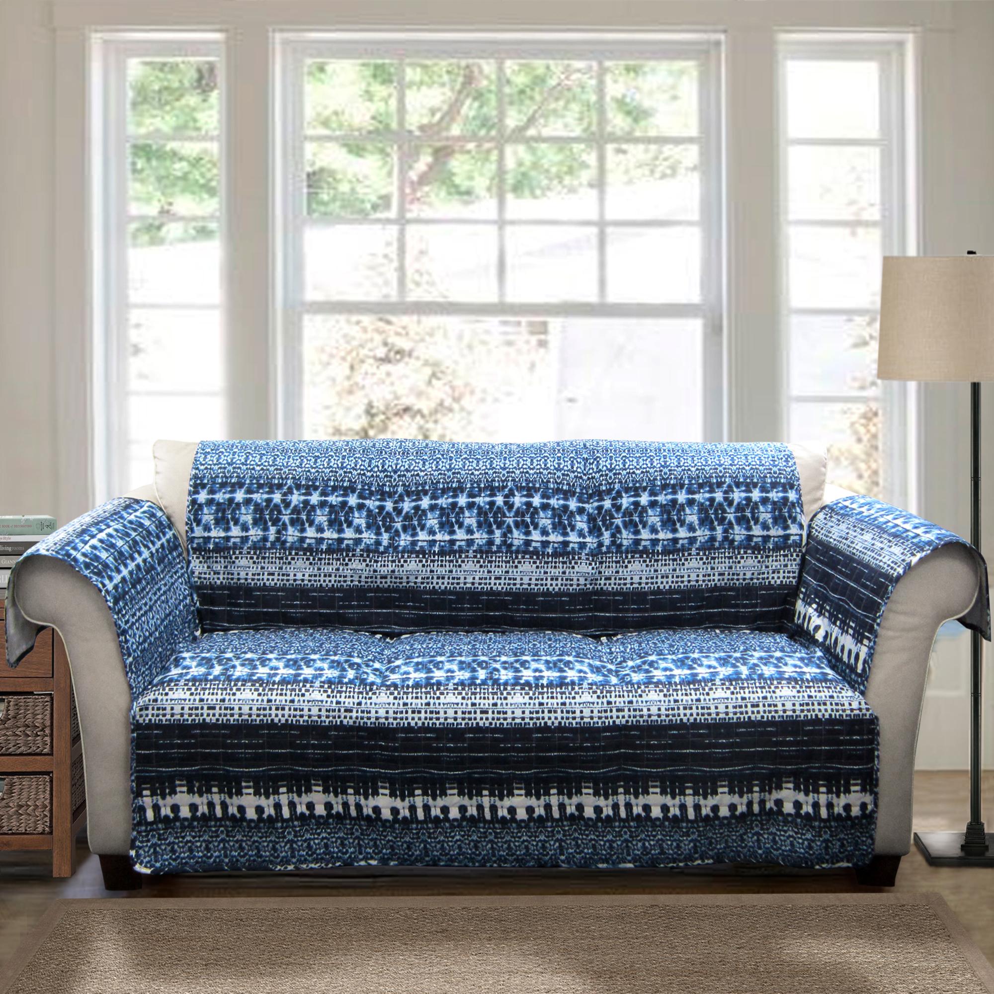 sofa slipcovers kmart australia mart brownsville tx forever new lambert tie dye furniture protectors navy loveseat