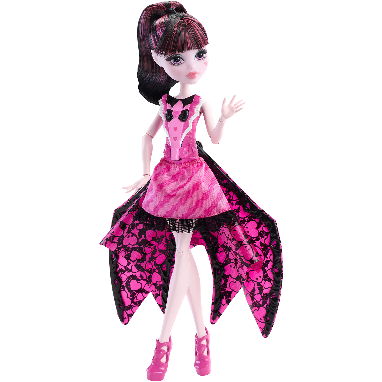 Monster High Ghoul-bat Transformation Draculaura Doll