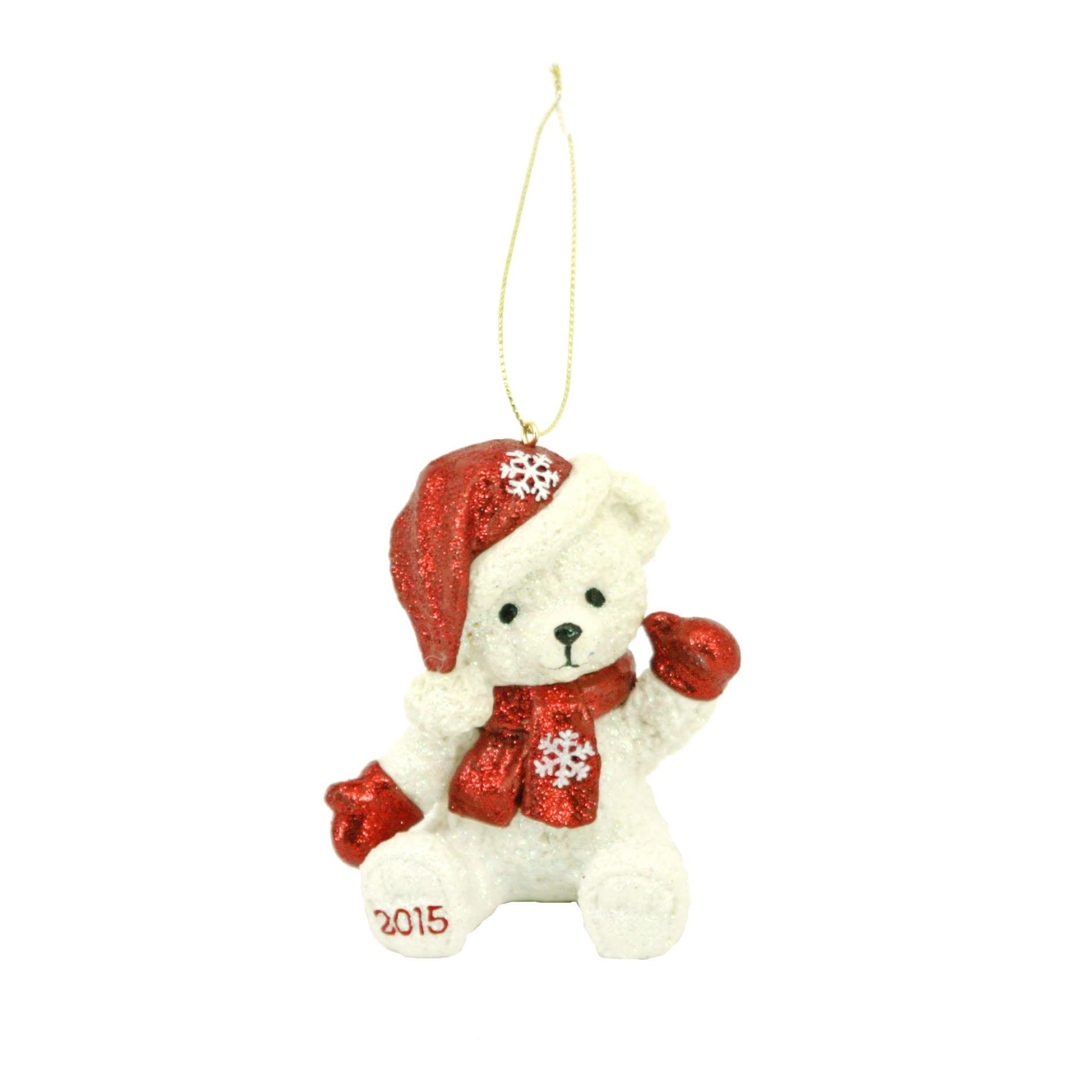 Trim A Home 35 Holiday Bear Ornament Red Seasonal