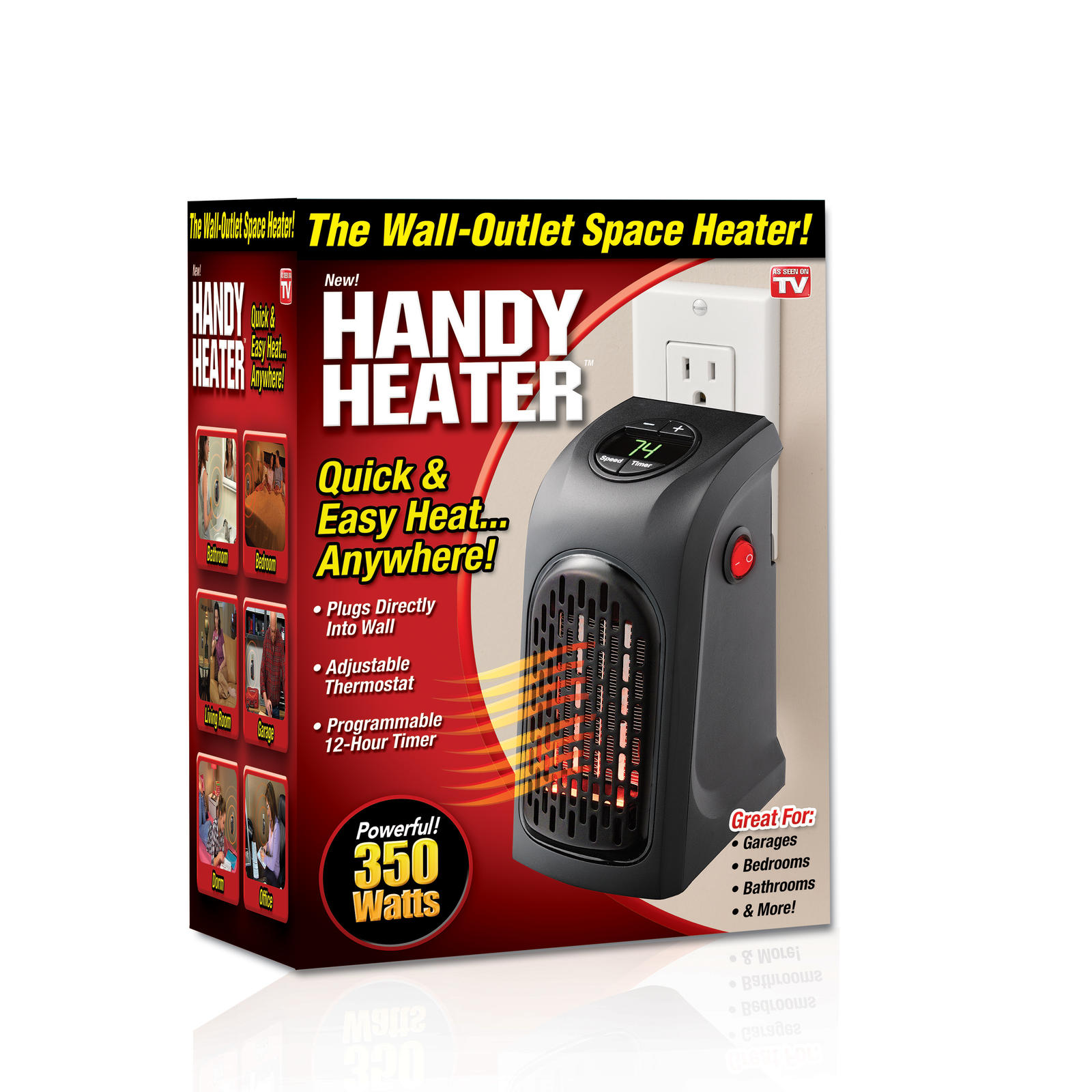 Electric Wall Heaters as Seen On TV