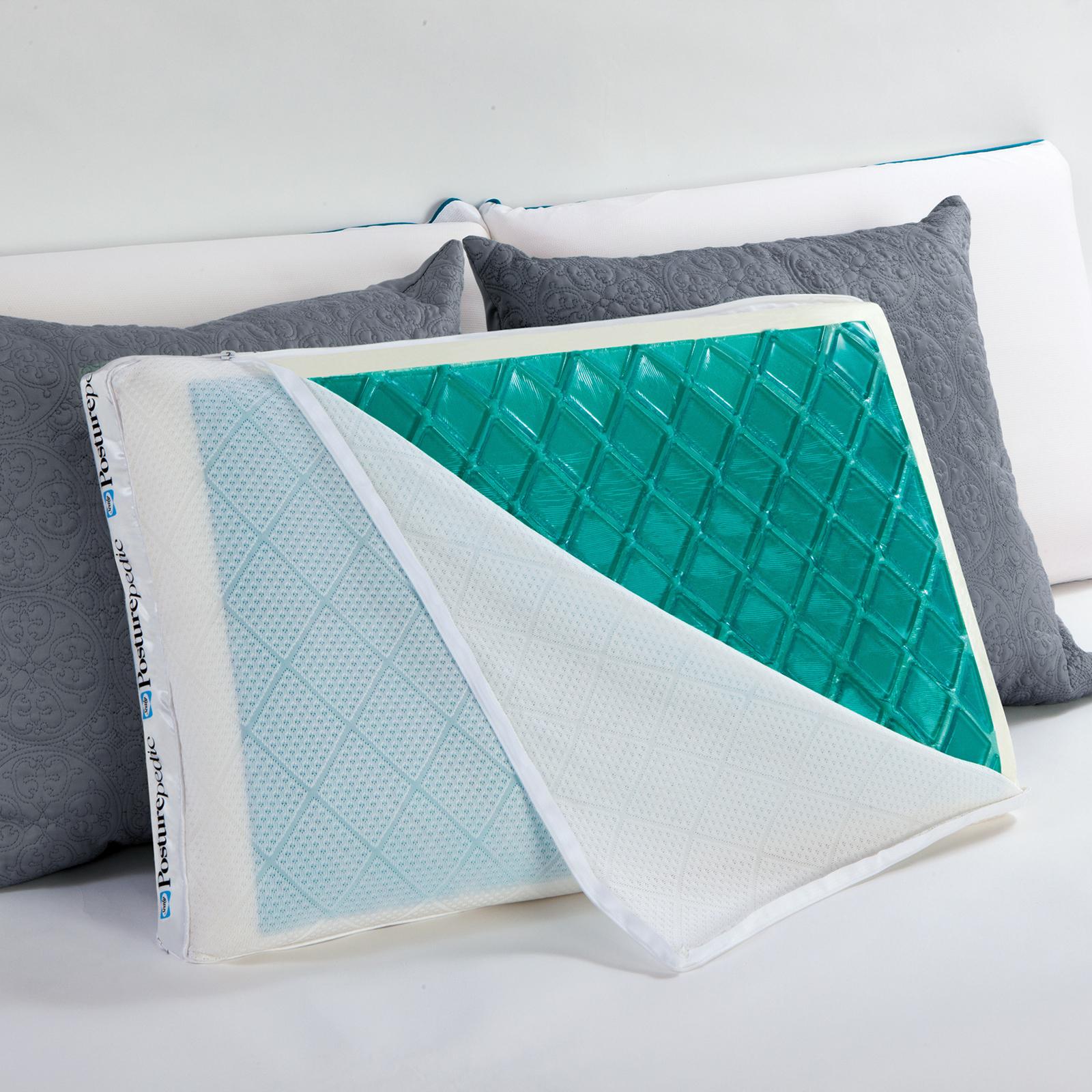 Sealy Posturepedic Hybrid Gel Pillow  Home  Bed  Bath