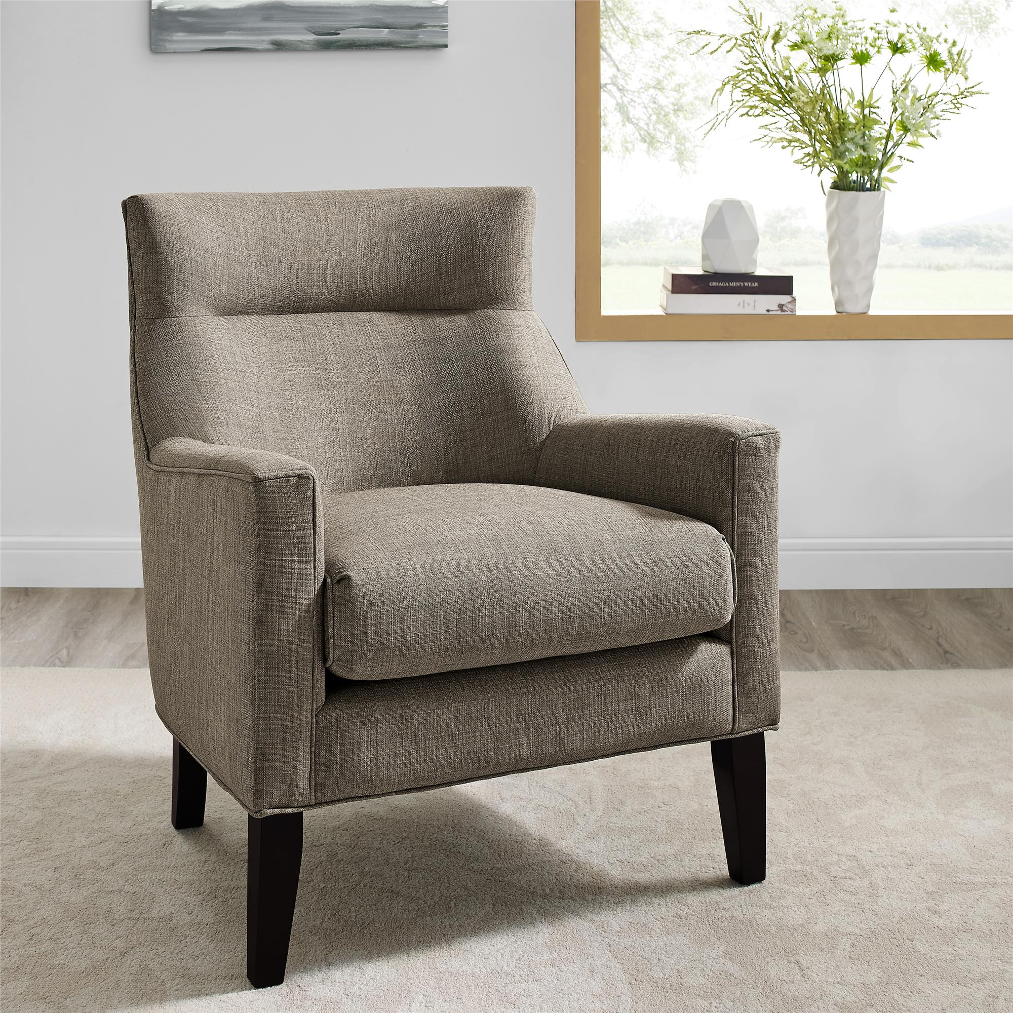 Sears Accent Chairs Dorel Home Furnishings Dori Dark Taupe Accent Chair