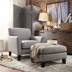 Bedroom Chair With Ottoman Gaming Reviews Canada Oxford Creek Park Hill Arm And Set In Grey