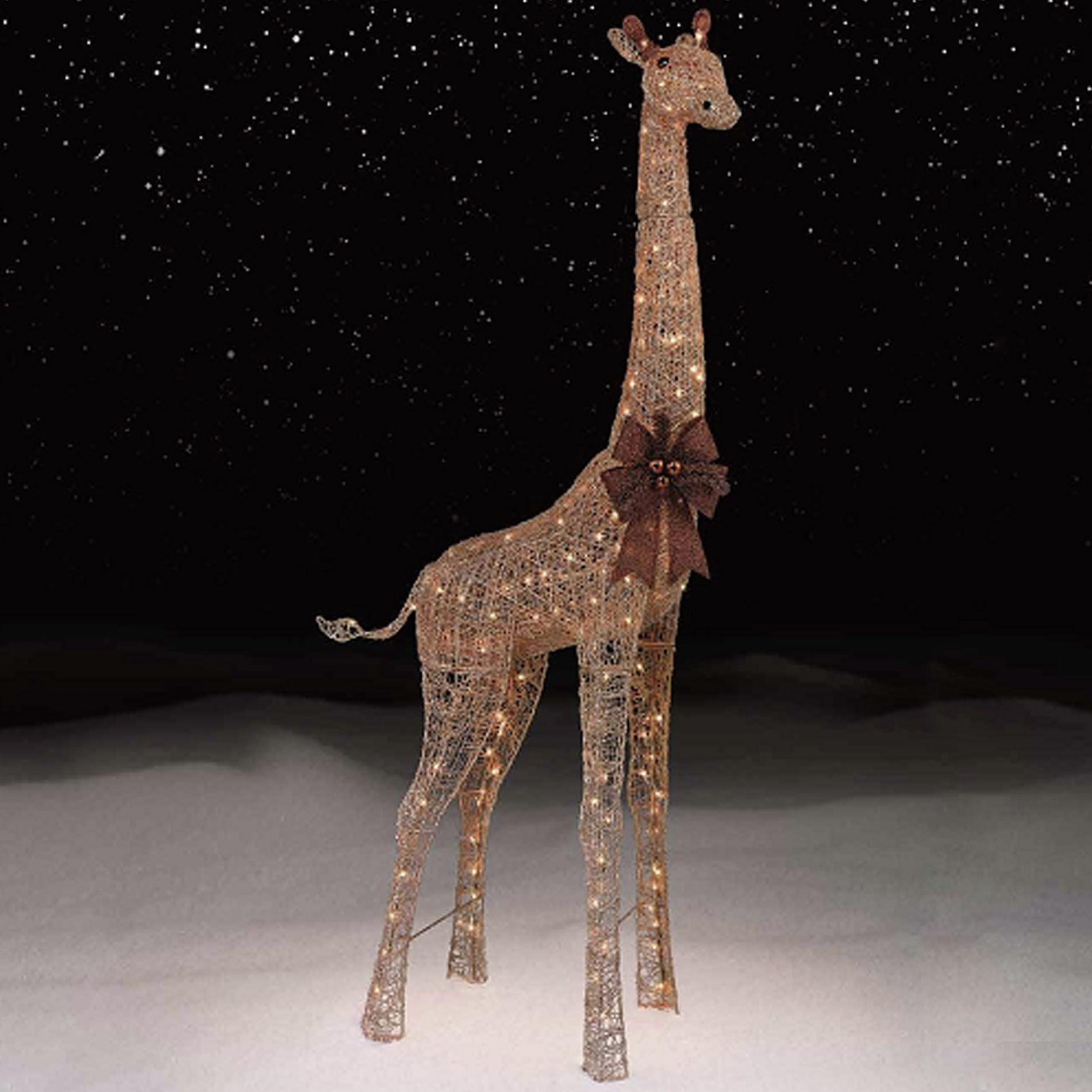 72 Gold Giraffe with 200 LightsKmart