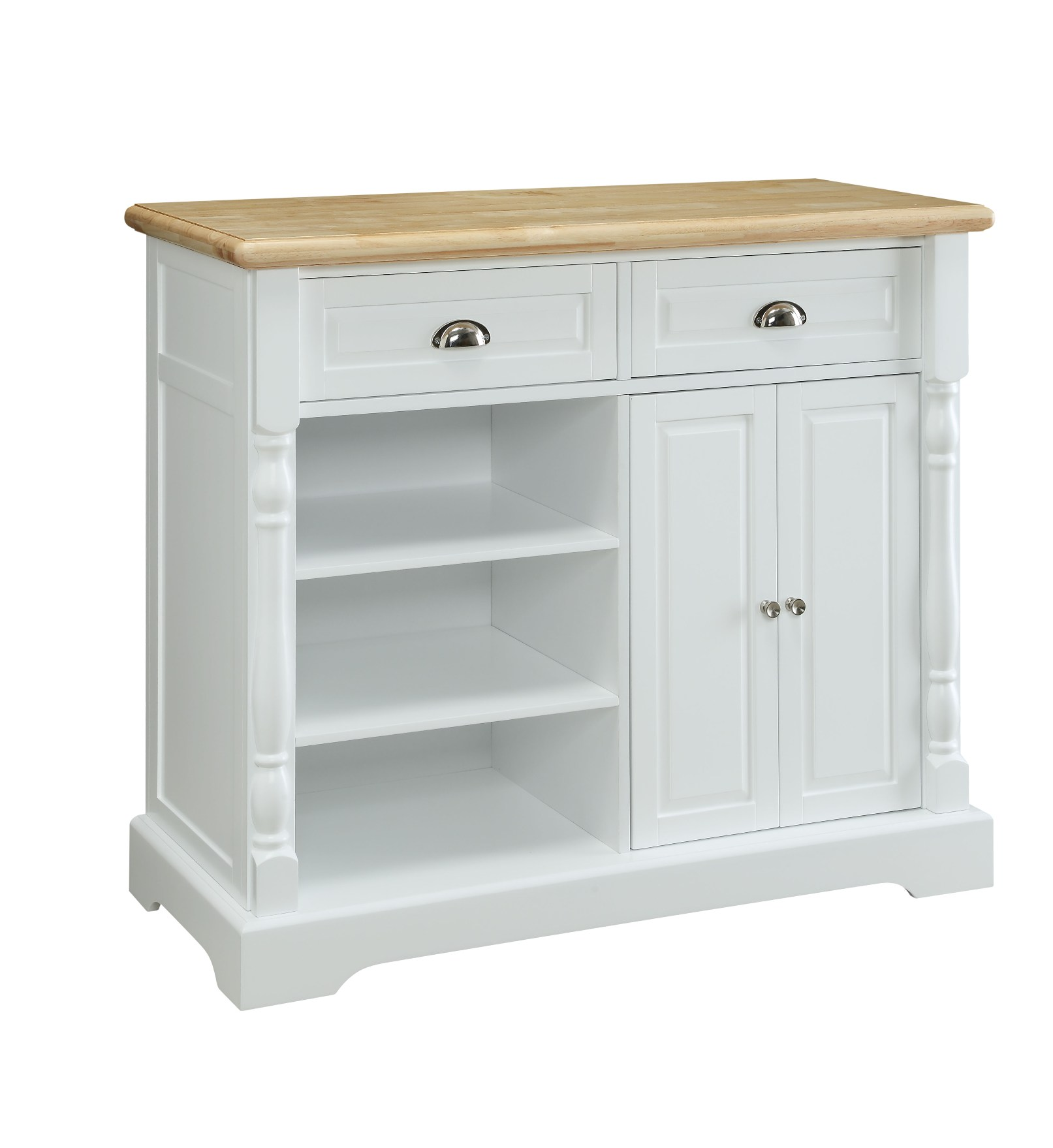 kmart kitchen lowes sinks essential home cart white natural