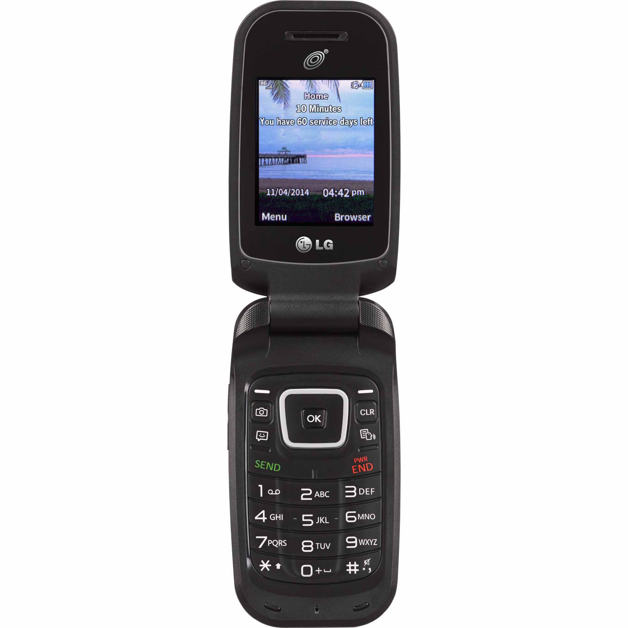 Net10 Lg 442g Prepaid Cell Phone