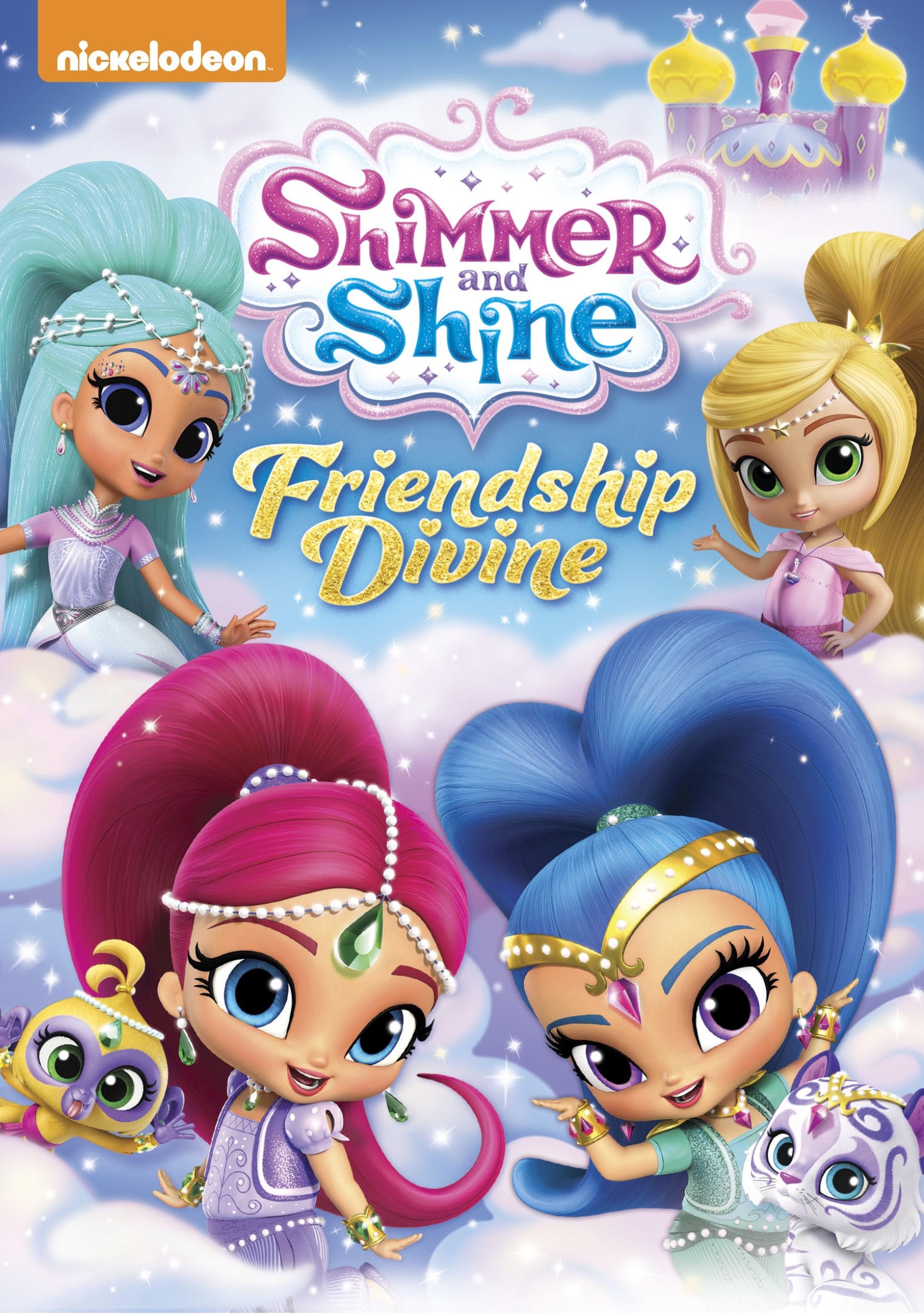Powerpuff Girls Wallpaper Logo Shimmer And Shine Friendship Divine Dvd