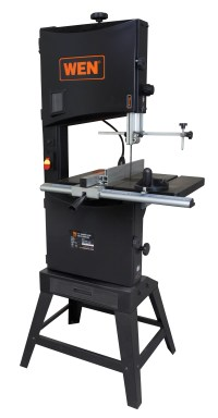 WEN 14-Inch Two-Speed Band Saw with Stand and Worklight