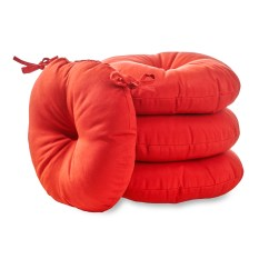 Round Cushions For Outdoor Chairs Pride Mobility Lift Chair Repair Cushion Kmart