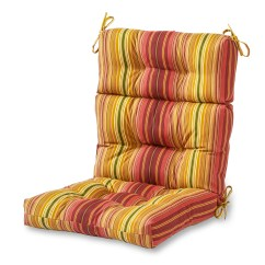 High Backed Chair Cushions Wood Lawn Chairs Greendale Home Fashions Outdoor Back Cushion