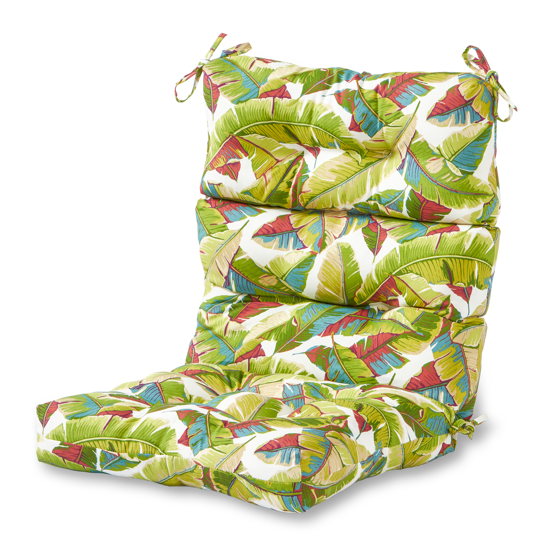 Greendale Home Fashions Outdoor High Back Patio Chair