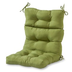 Outdoor Replacement Chair Cushions Wheelchair Wheels Greendale Home Fashions High Back Cushion