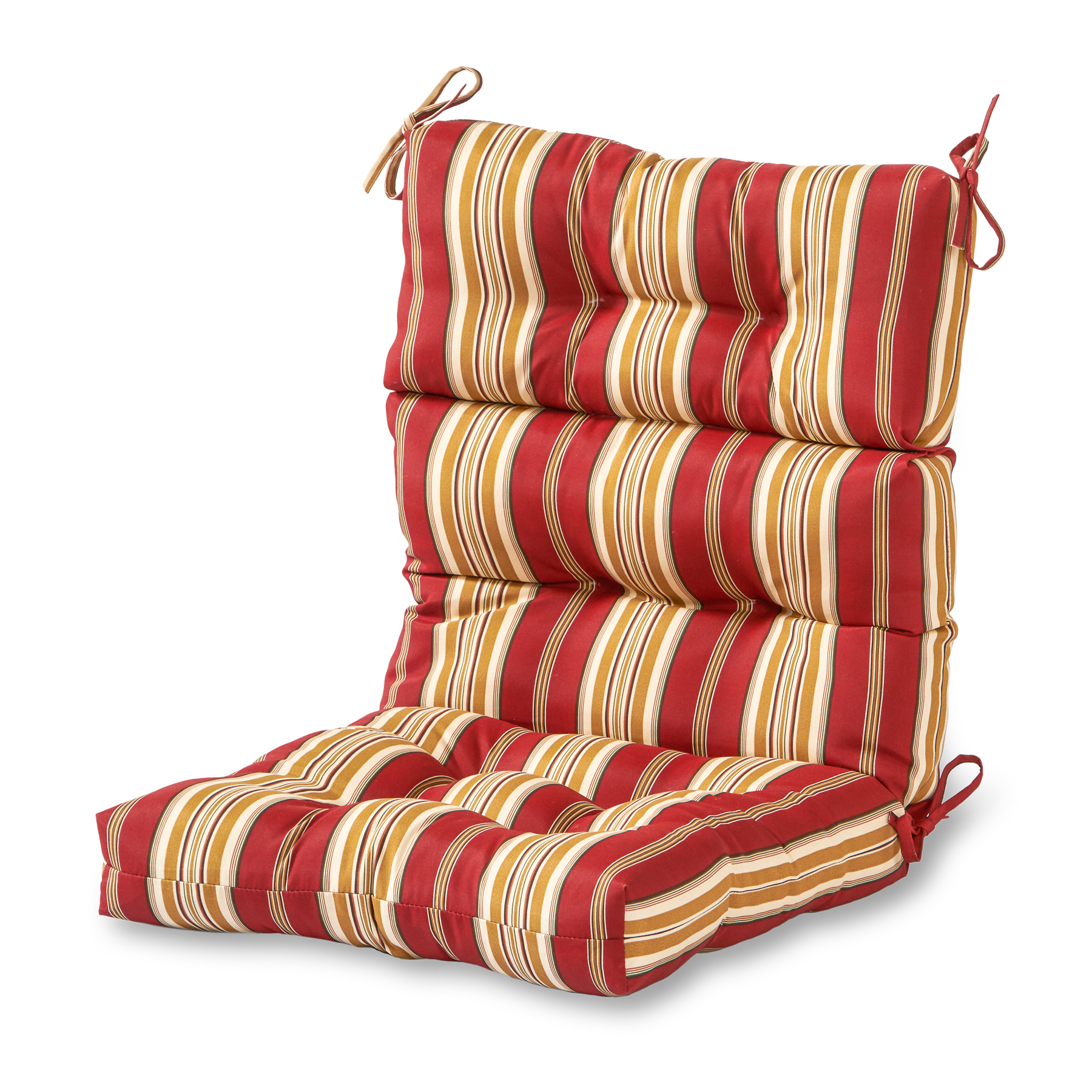 high backed chair cushions cymax dining chairs greendale home fashions outdoor back cushion