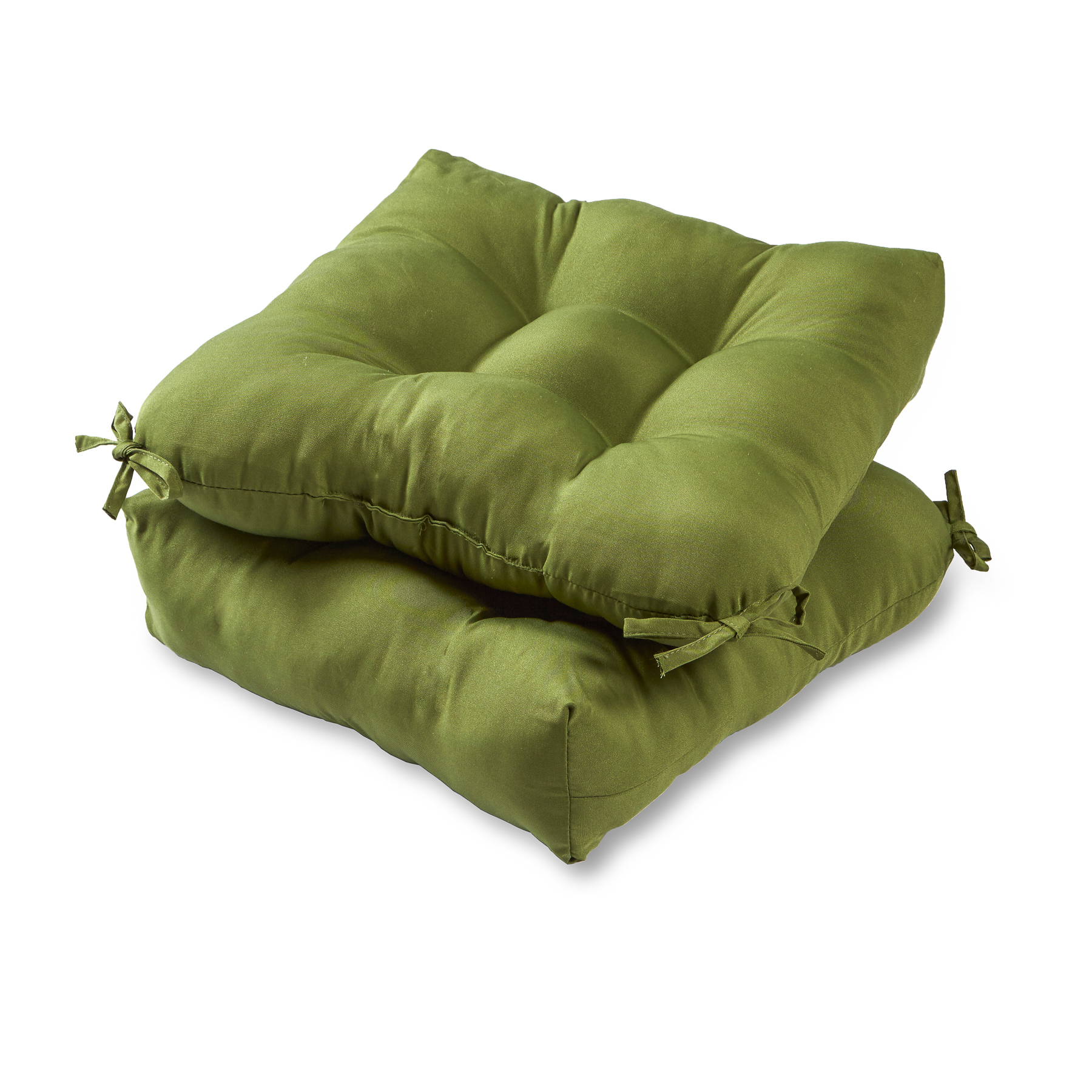 green chair cushions metal chaise lounge chairs with wheels greendale home fashions set of two 20 quot outdoor