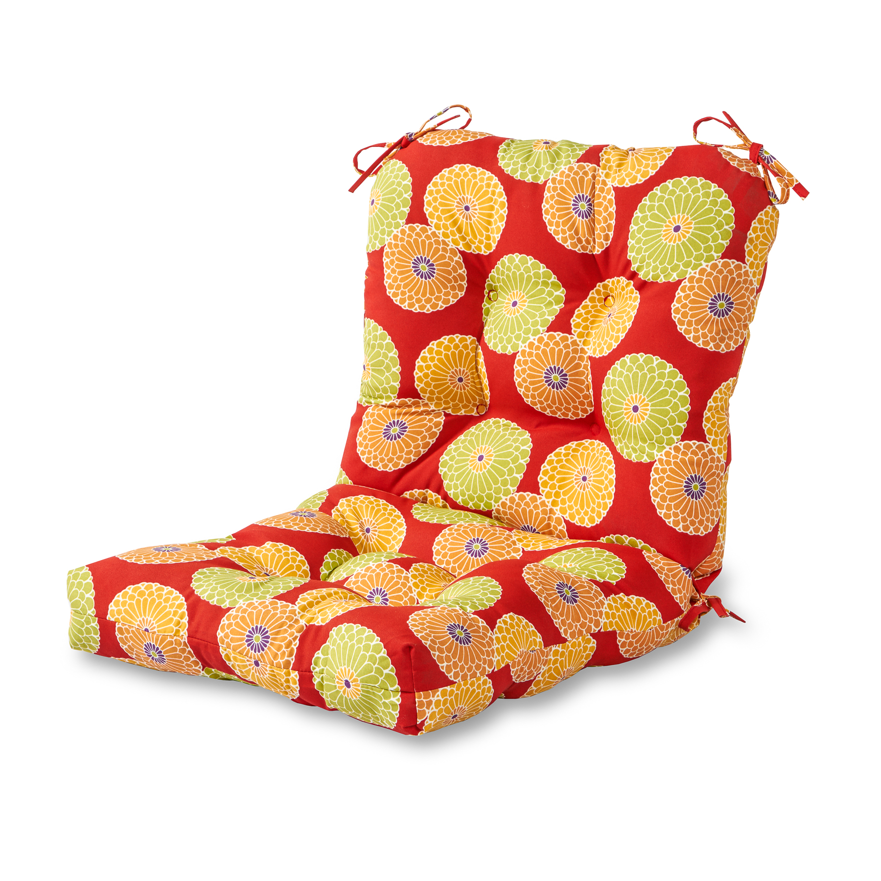 red outdoor chair pillows luxury accent chairs greendale home fashions seat back cushion