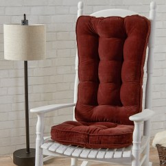 Oversized Rocking Chair Cushions Wheelchair Equipment Greendale Home Fashions Hyatt Jumbo Cushion