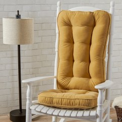 Large Rocking Chair Cushion Sets Wedding Rental Chairs Greendale Home Fashions Hyatt Jumbo