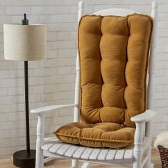 Oversized Chair Cushions Kitchen Walmart Greendale Home Fashions Cherokee Deluxe Jumbo Rocking