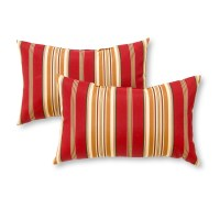 Greendale Home Fashions Rectangle Outdoor Accent Pillows ...