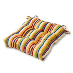 Sunbrella Outdoor Chair Cushions Folding With Cooler Greendale Home Fashions 20 Quot Cushion