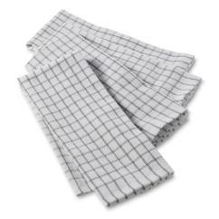 Gray Kitchen Towels Kitchens Cabinets Dish Sears 4 Pack Windowpane