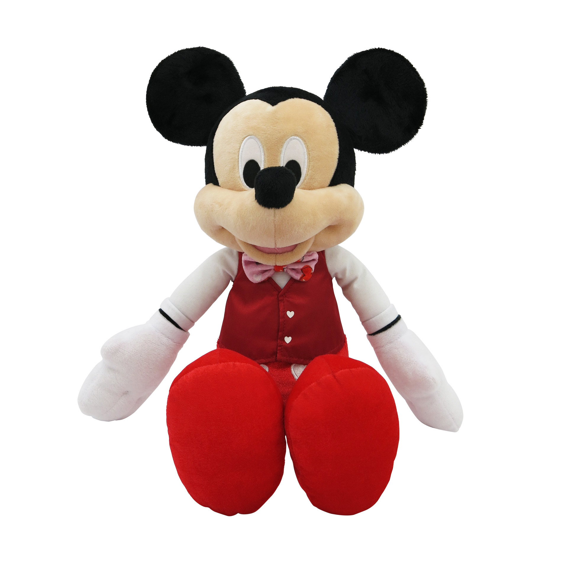 Disney 19 Valentine Jumbo Plush Mickey Mouse