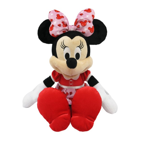 Disney Valentine' Day Love Jumbo Plush Minnie Mouse Stuffed Toy