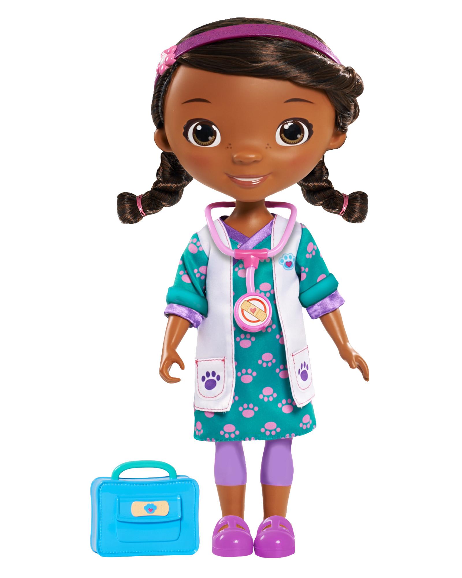 Disney 15 Doc McStuffins Doll Blue Physician