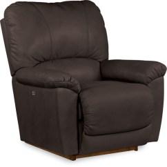 Lazy Boy Rocking Chair Back Support La Z Tyler Powerreclinexr Rocker Recliner Mahogany