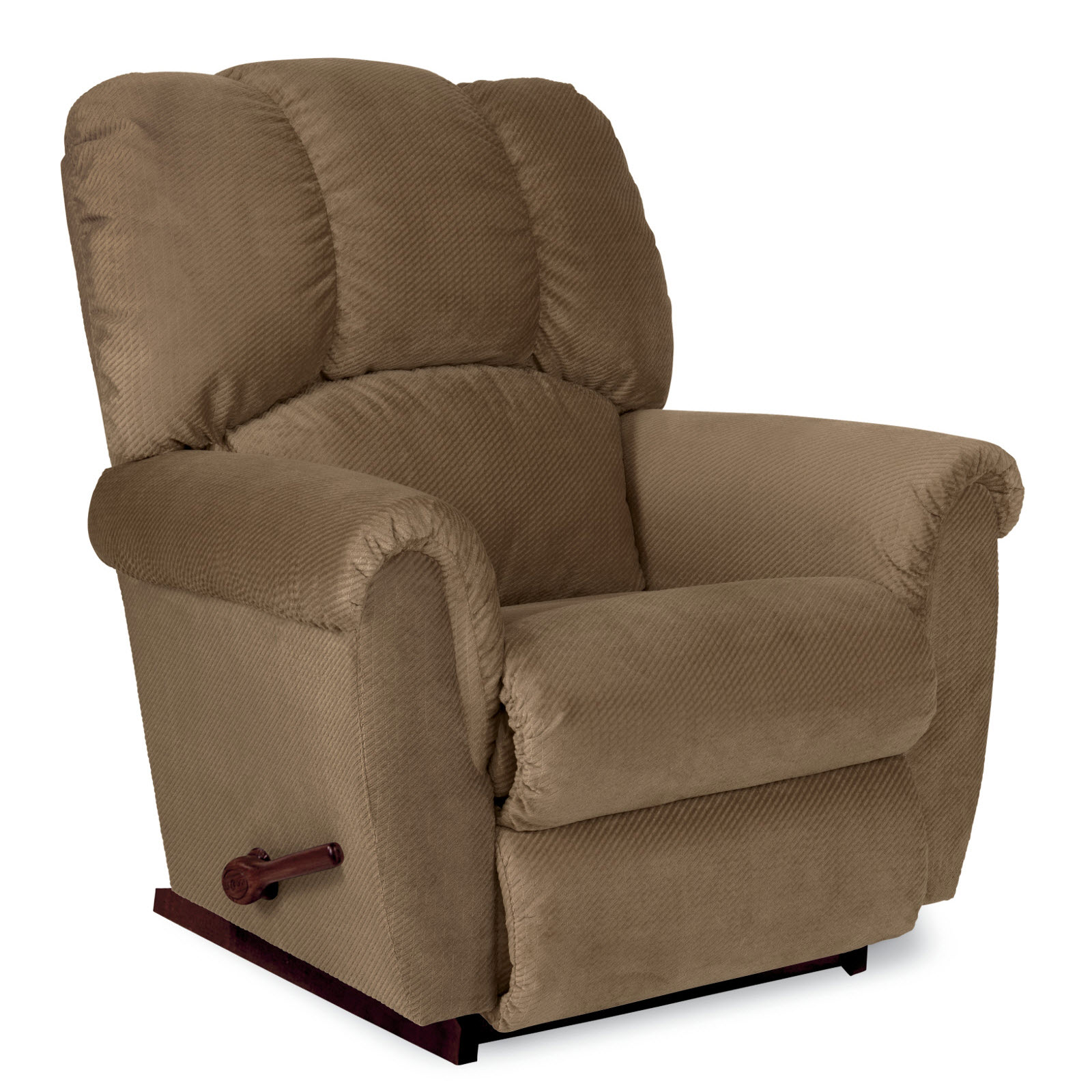 Lazy Boy Swivel Chair La Z Boy Conner Reclina Rocker Recliner Tan
