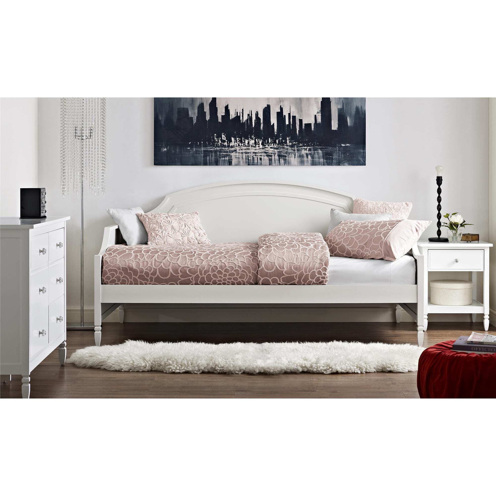 Dorel Home Furnishings Vivienne White Twin Daybed