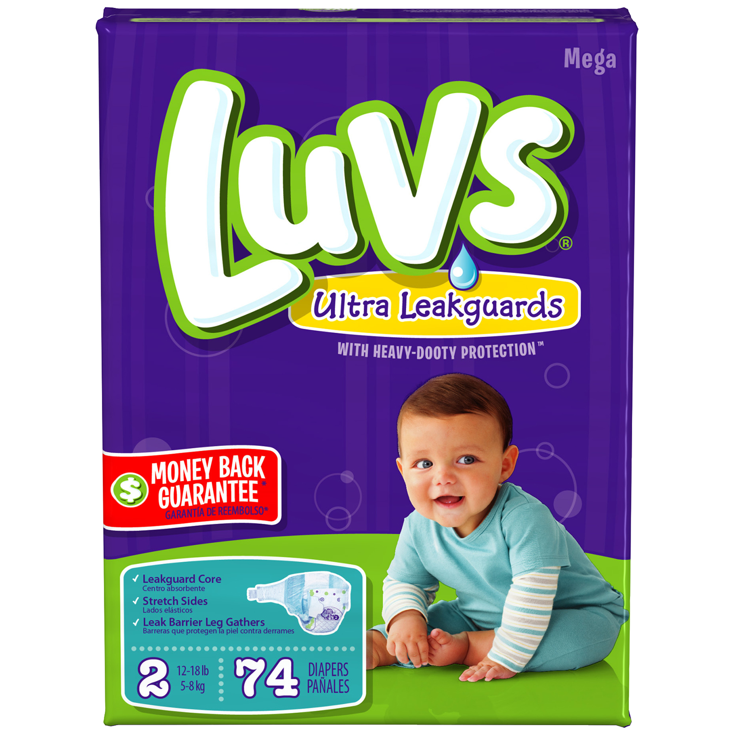 Luvs Clues Blue S Diapers