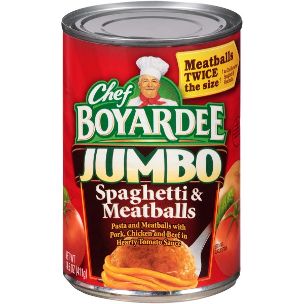 UPC 064144042135 Chef Boyardee Jumbo Spaghetti Jumbo