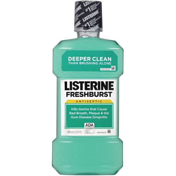 Upc 312547428255 - Listerine Antiseptic Mouthwash Fresh