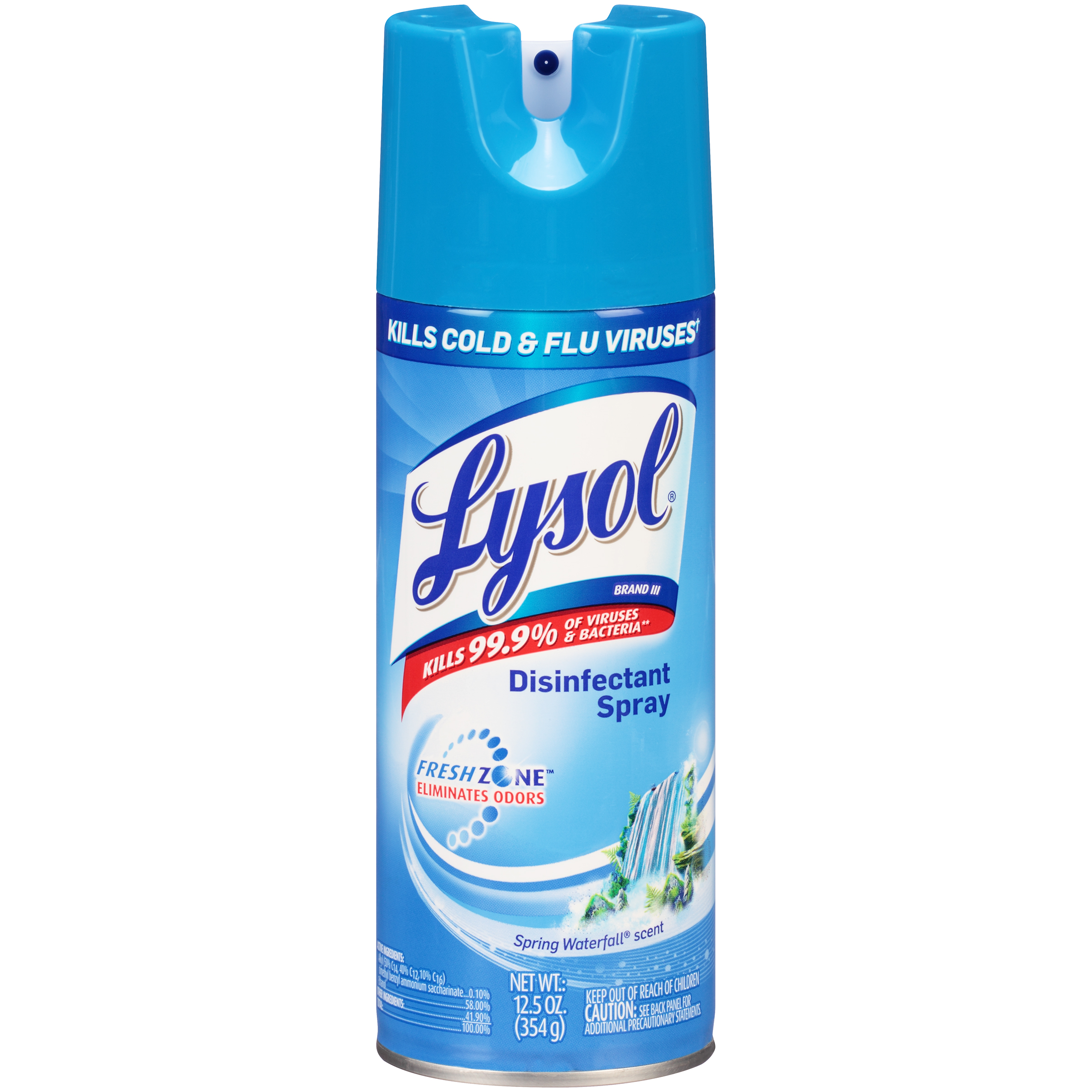 Lysol Disinfectant Spray Spring Waterfall Scent 12 5 Oz