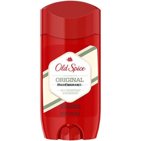 Upc 012044000236 - Spice High Endurance Antiperspirant & Deodorant Invisible Solid Original