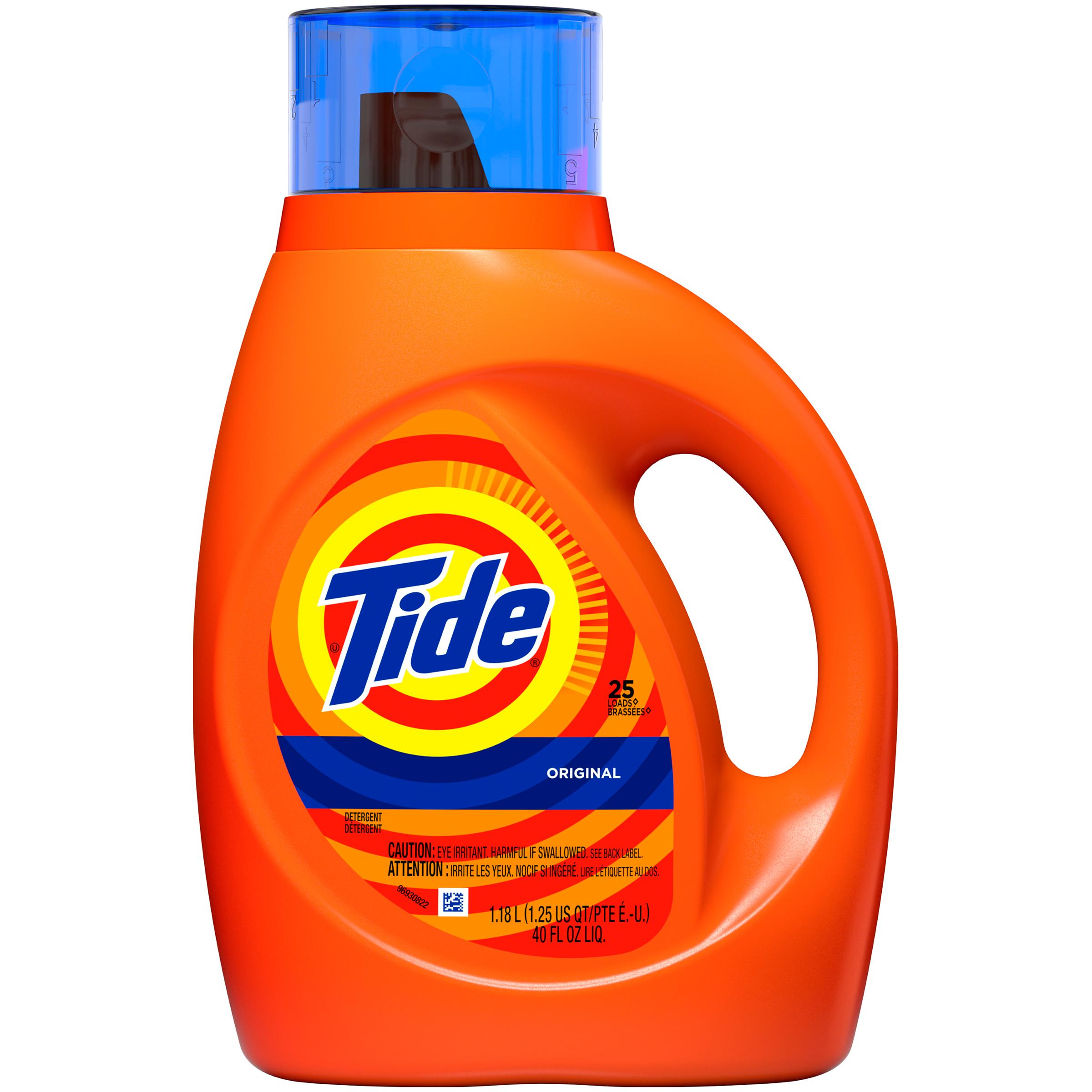 Tide Liquid Laundry Detergent, 40 Fl Oz (118 L