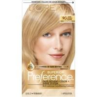 L'Oreal 9G Warmer Light Golden Blonde Hair Color 1 KT BOX ...