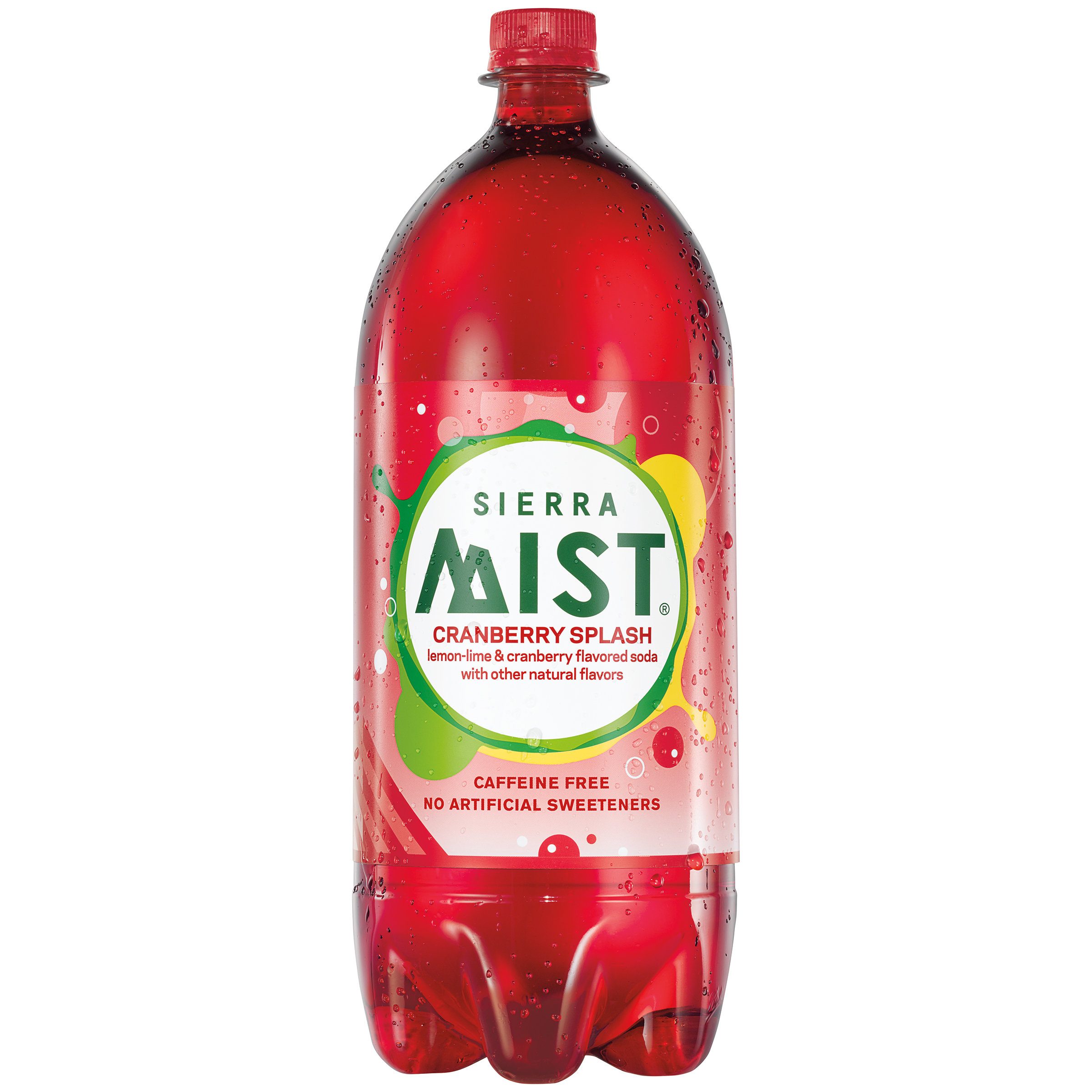 Sierra Mist Cranberry Splash Soda 67.6 Fl Oz Plastic