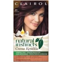 Clairol Natural Instincts Crema Keratina Hair Color, 4RV ...