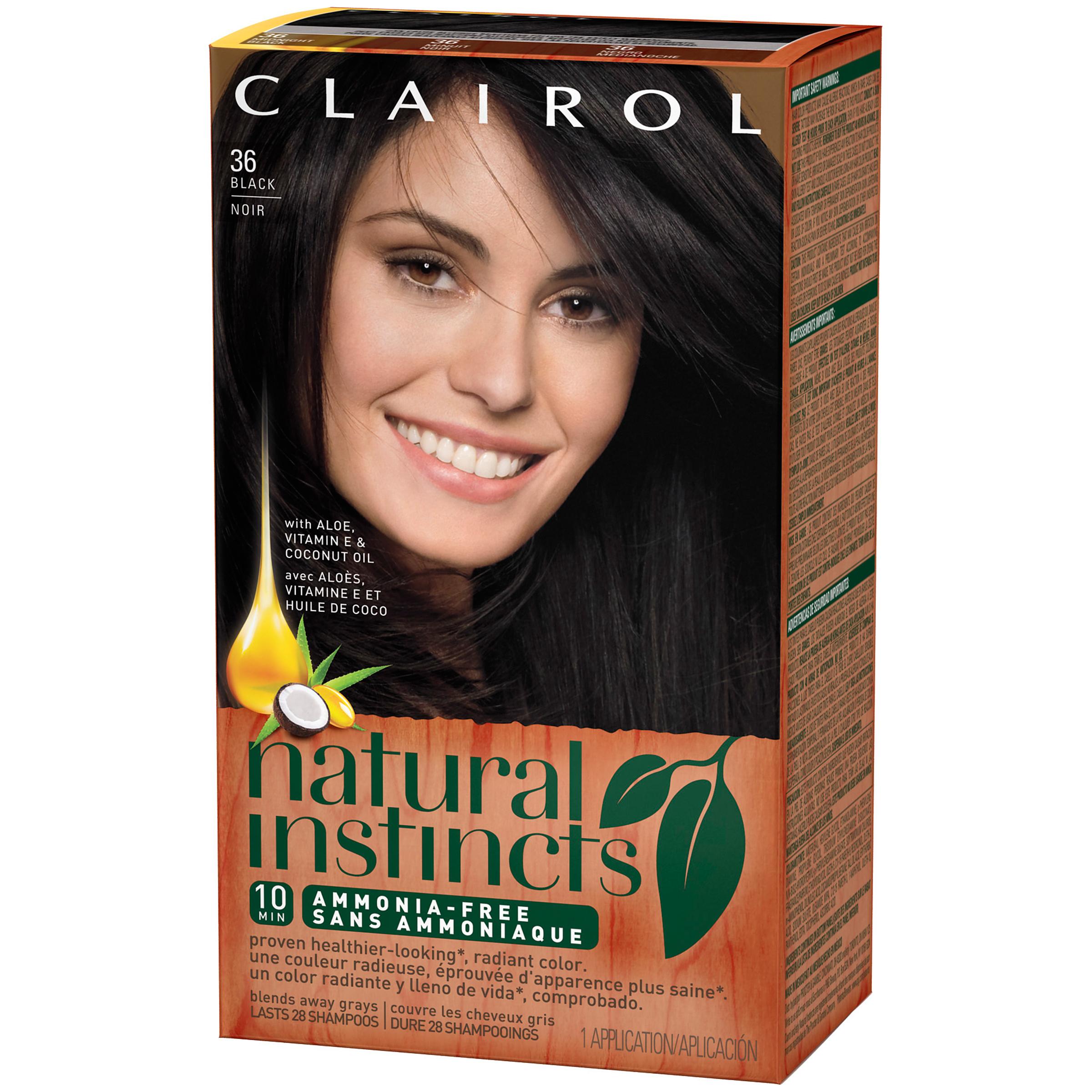 Clairol Clairol Natural Instincts 36 Midnight Black 1