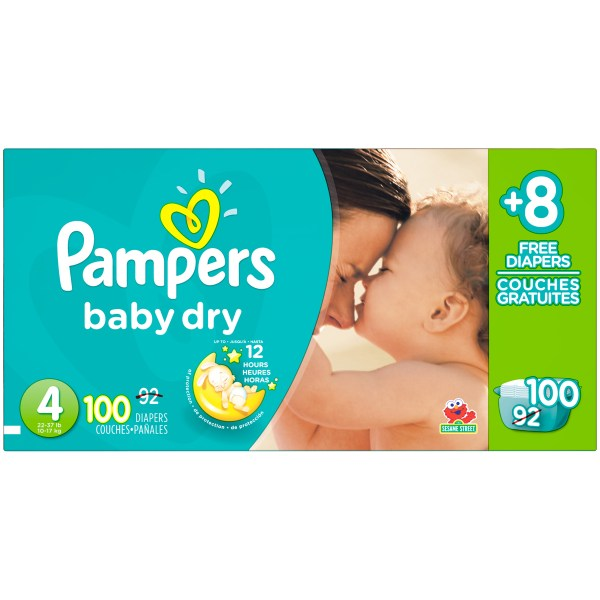 Pampers Baby Dry Upc & Barcode