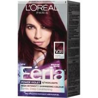 FERIA High-Intensity Shimmering Colour Power Violet V38 ...