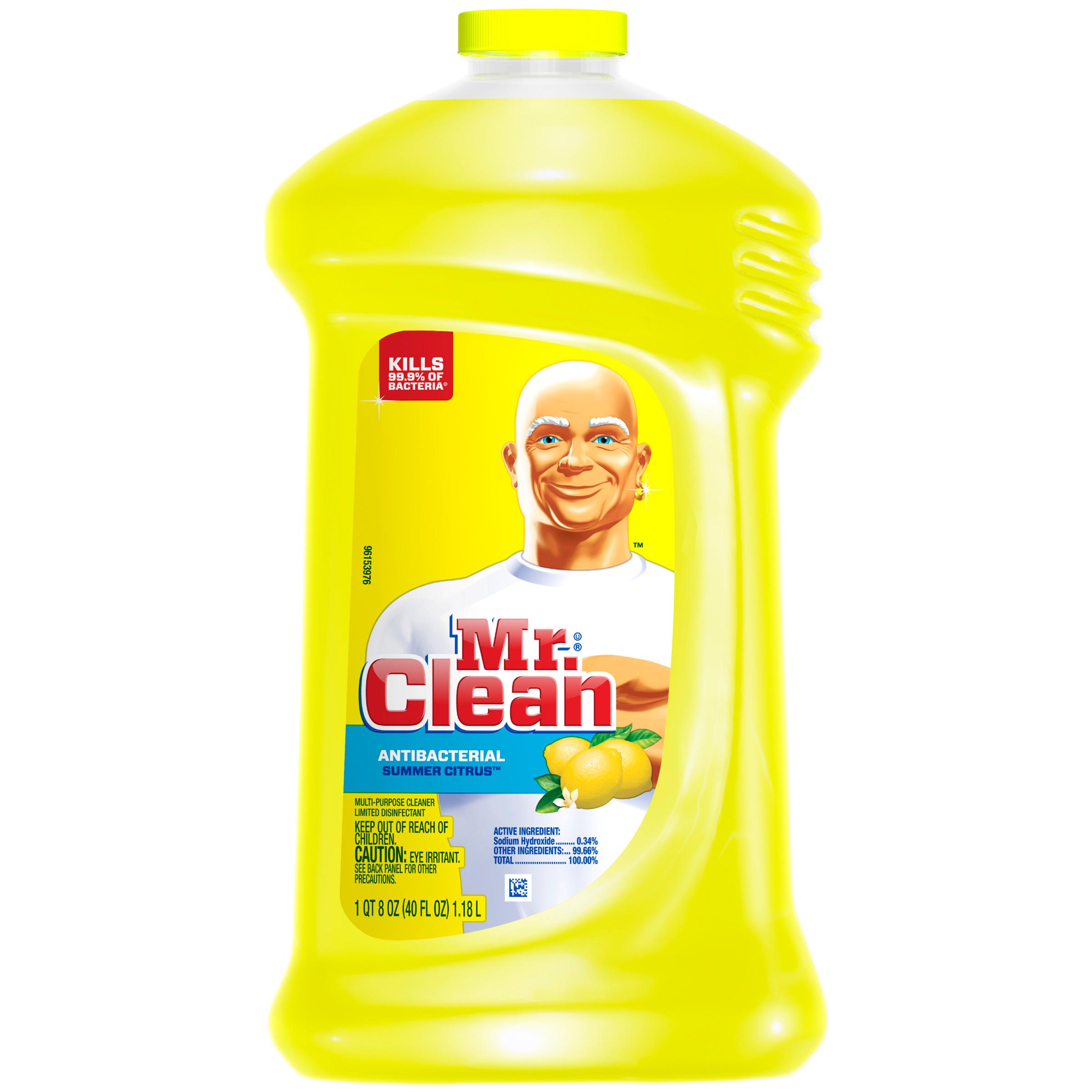 Mr Clean Mr Clean Liquid All Purpose Antibacterial