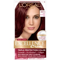 L'Oreal 4RM Red Richesse Warmer Dark Mahogany Red Hair ...