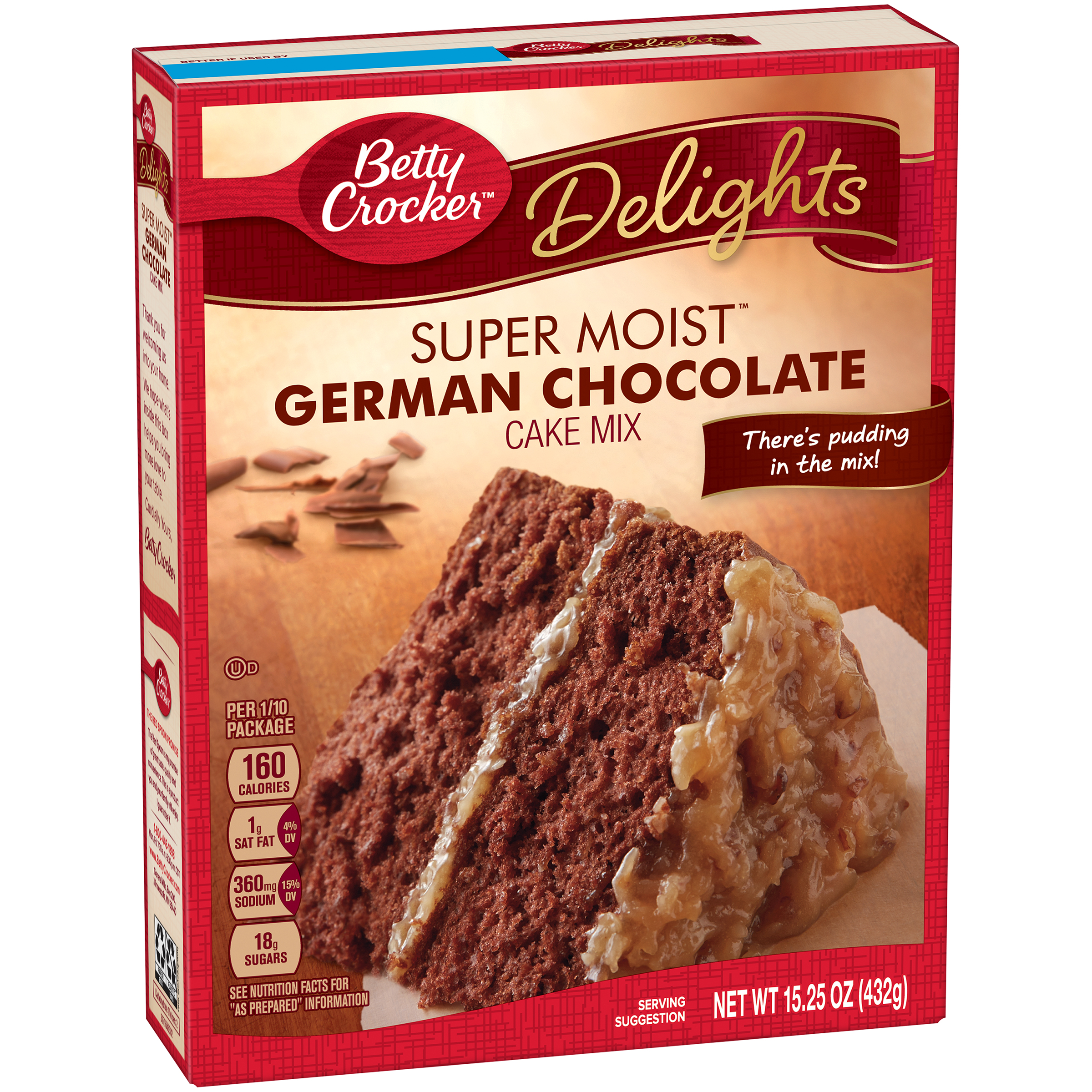 Betty Crocker Super Moist Cake Mix German Chocolate 15 25 Oz