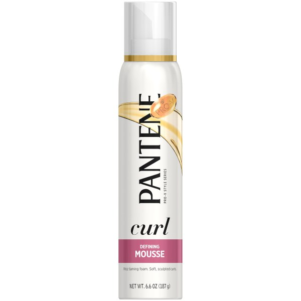 Pantene ProV Curly Hair Style Mousse Curl Defining