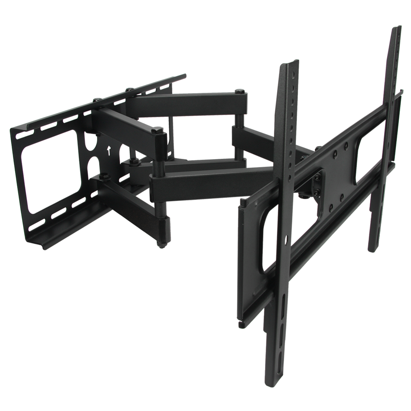 Full Motion TV Wall Mount Double